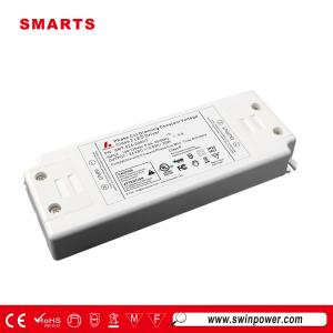 Conducteur mené de tension constante dimmable de triac de 24v 20w